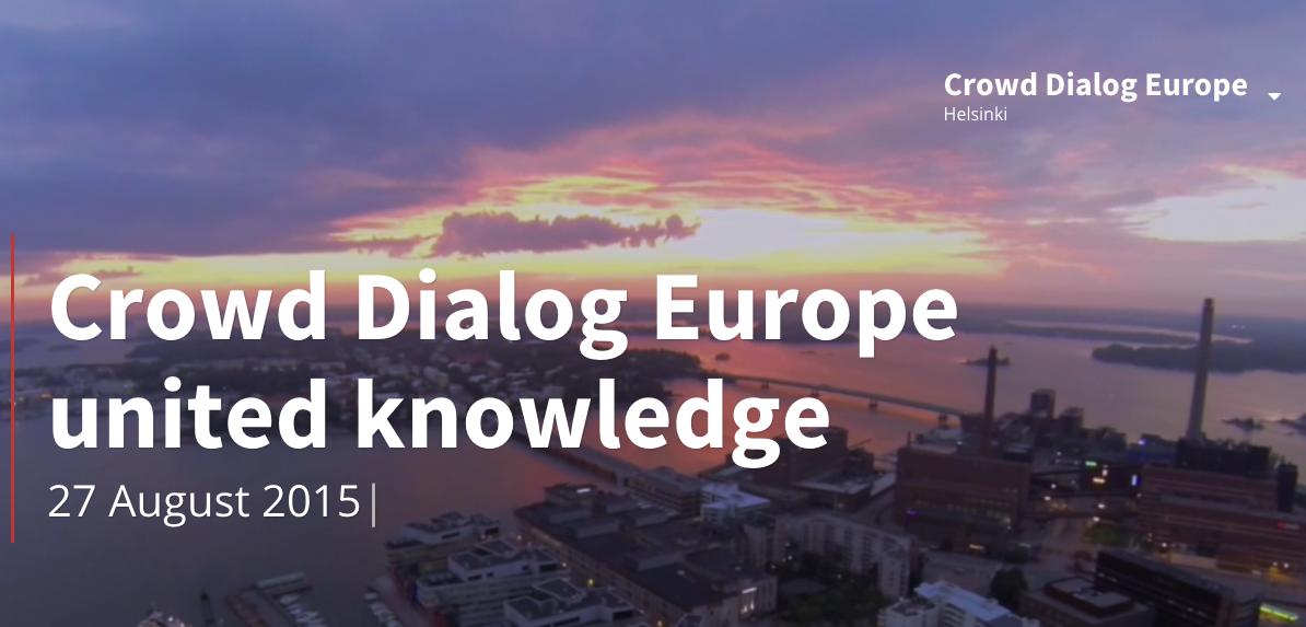 crowd dialog europe